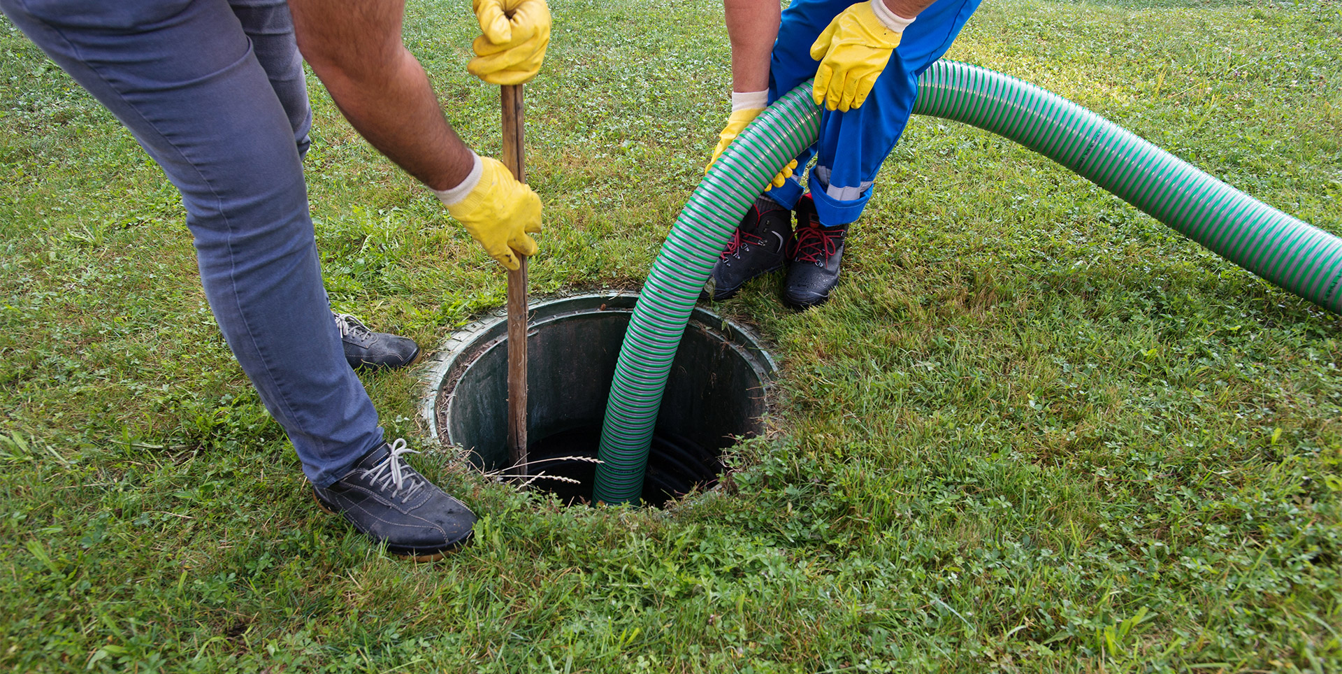 Drain Cleaning on a drain system
